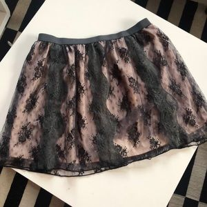 Lace American Eagle Skirt